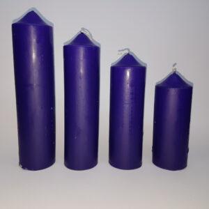 Svijeće za advent 6,5cm 4 visine