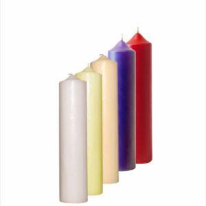 Oltarna svijeća 5,5×24 cm (2 u kg)