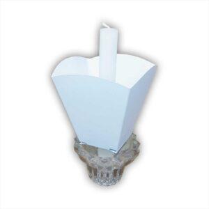 Štitnik za svijeću papirni