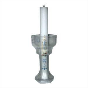 Štitnik za svijeću plastični